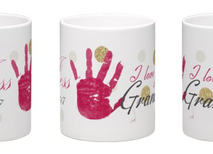 Personalized Hand/Footprint Mug