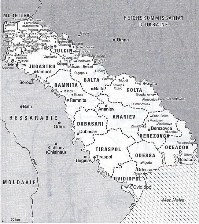 La Transnitrie, Reichskomissariat d'Ukraine