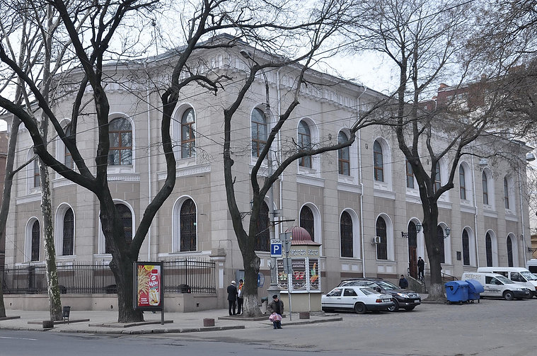 The Main Synagogue of Odessa synagogue centrale