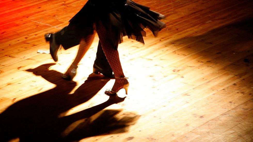 Ballroom Footwork / Dansteknik (öppen nivå)