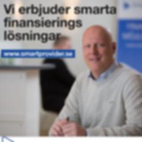 Smartprovider - vi erbjuder småråt finansieringslösningar