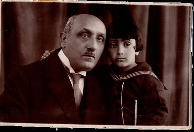 Alex et  grand-père