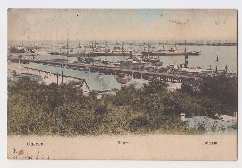 Odessa Harbour 1908