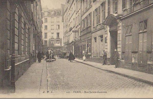 Le Marais, rue Sainte-Anastase