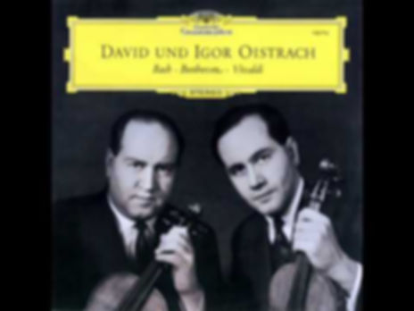David Oistrach Igor Oistrach Deutsche Grammophon