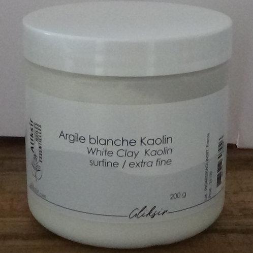 Argile blanche koalin, Aliksir, 200g