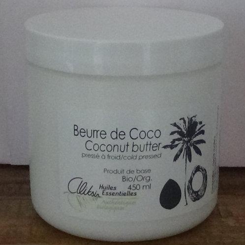 Beurre de coco, Aliksir, 450 ml