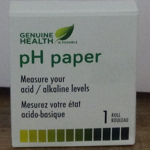 Papier PH, Genuine Healt