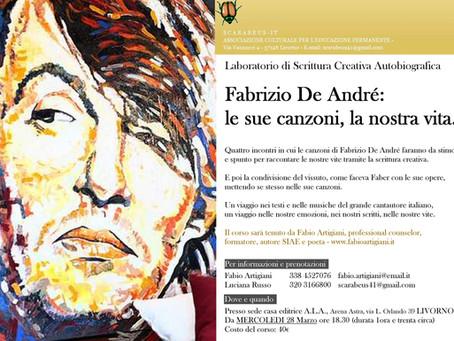 Fabrizio De André: le sue canzoni, la nostra vita. LIVORNO