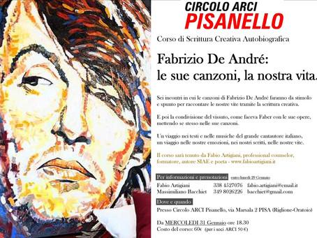 Fabrizio De André: le sue canzoni, la nostra vita. PISA