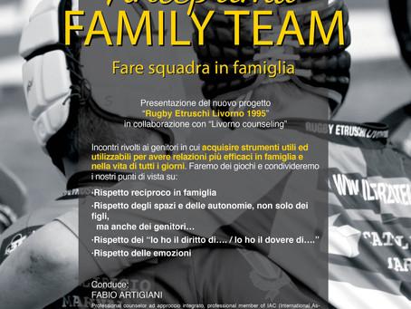 Anteprima FAMILY TEAM - fare squadra in famiglia