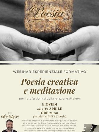 Poesia creativa e meditazione - webinar formativo