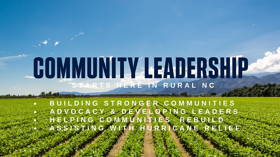Community Leadership Starts Here in Sout