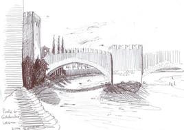 20040410_Verona_Ponte di Castel Vecchio.