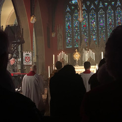 Adoration at St Mary's Cathedral