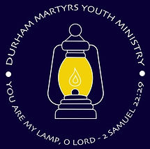 Durham Martyrs Youth Ministry logo showing a lantern.