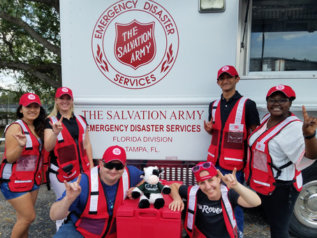CERT Stars in Salvation Army Training Videos