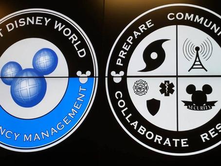 USF CERT visits Walt Disney World EOC