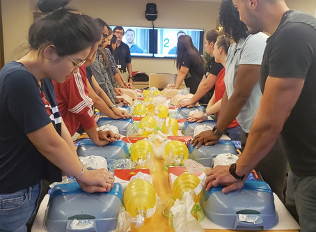 Basic Life Support (BLS) CPR/AED Training at USF COPH