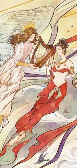 Angel and Apsara-2