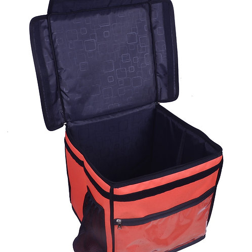 Insulated food Delivery bag Meal Delivery Bag Cake Delivery Bag (Orange)