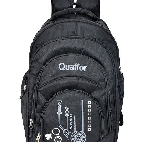 Waterproof College Backpack With Rain Cover