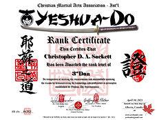 Christopher D Sackett Yeshua-Do Sandan.j