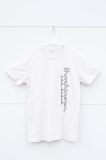 Hutchinson Car Audio T-Shirt - White