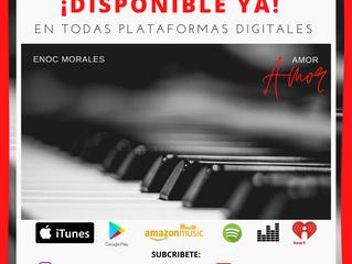 """Enoc morales lanza su segundo sencillo titulado """"Amor, Amor"""""""