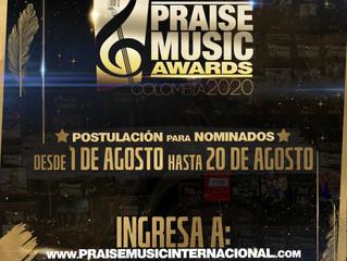 EN OCTUBRE SE LLEVARÁ A CABO LA TERCERA EDICIÓN DE LOS PREMIOS PRAISE MUSIC AWARDS COLOMBIA