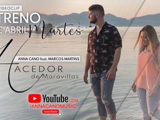"""La Española Anna Cano presenta su sencillo """"Hacedor de Maravillas"""" junto a Marcos Martins"""""""