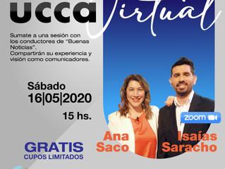"""""""Buenas Noticias"""" para los comunicadores. El próximo sábado se desarrollará el encuentro de UCCA en"""