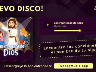 SHEEP MUSIC APP lanza su álbum LAS PROMESAS DE DIOS con canciones personalizadas