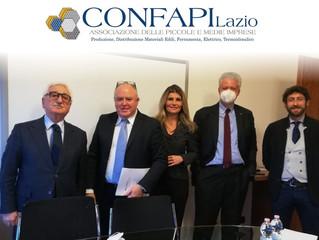 imprenditore Romano  Valentino Cotugno nominato Presidente CONFAPI LAZIO Produzione, Distribuzione