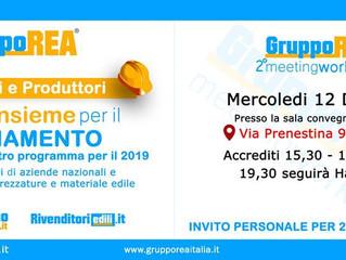 #Più Forti INSIEME per il cambiamento Rivendite  e Produttori 12 Dicembre Roma