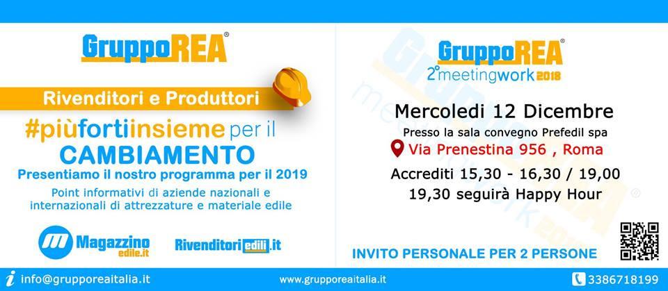 richiedi invito  info@grupporeaitalia.it