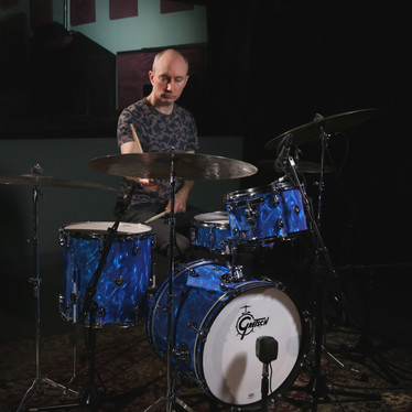 Catalina Club in Blue Satin Flame with Nate Wood