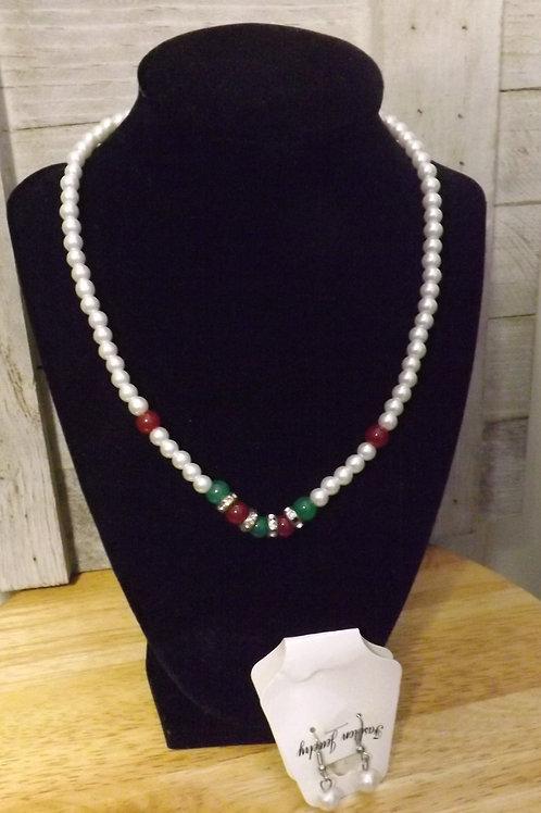 Set - Necklace & Earrings
