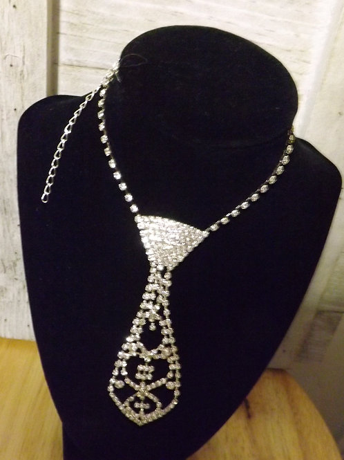 Elegant Necklace Tie- 3 Left