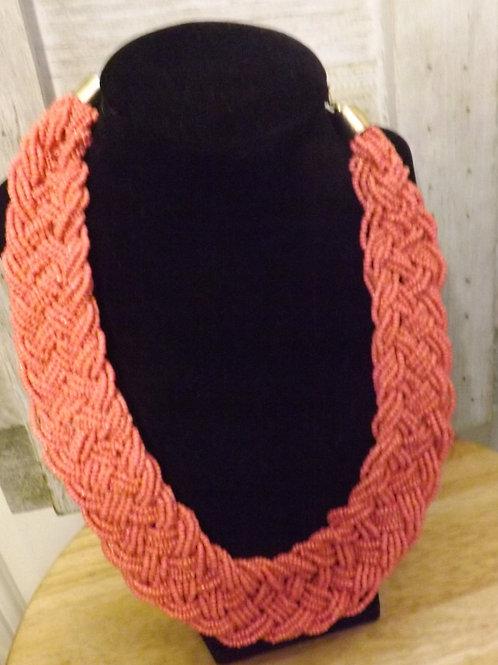 Short Peache Necklace