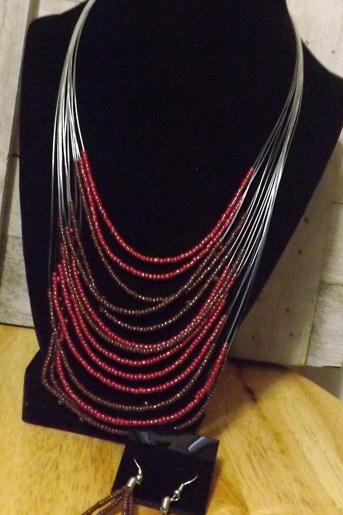 Necklace & earrings- 1 Left