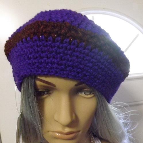 Purple Handmade hat