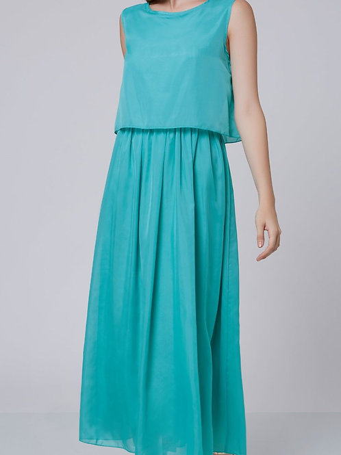 Long Summer Dress - S, M.