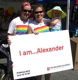 I am Alexander, PrideFest Denver