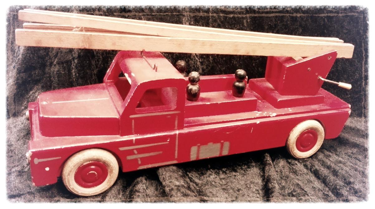 Lego - Holzfeuerwehr 1953
