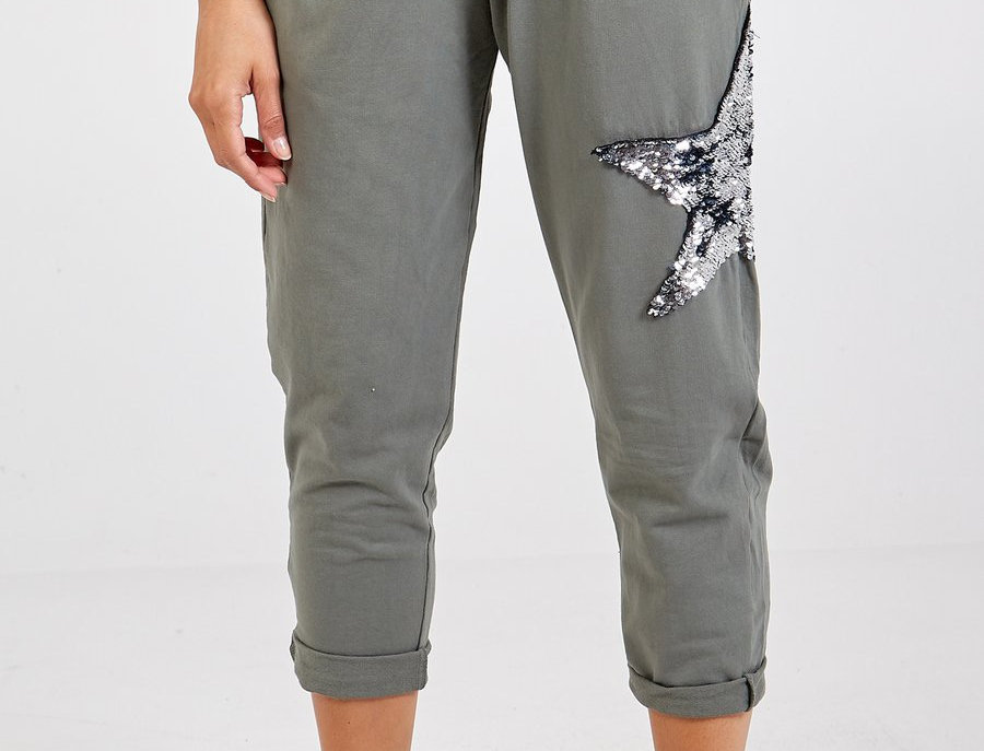 Magic Sequin Star Jogger