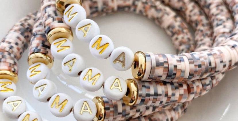 Mama Bracelet~Toasted Coconut
