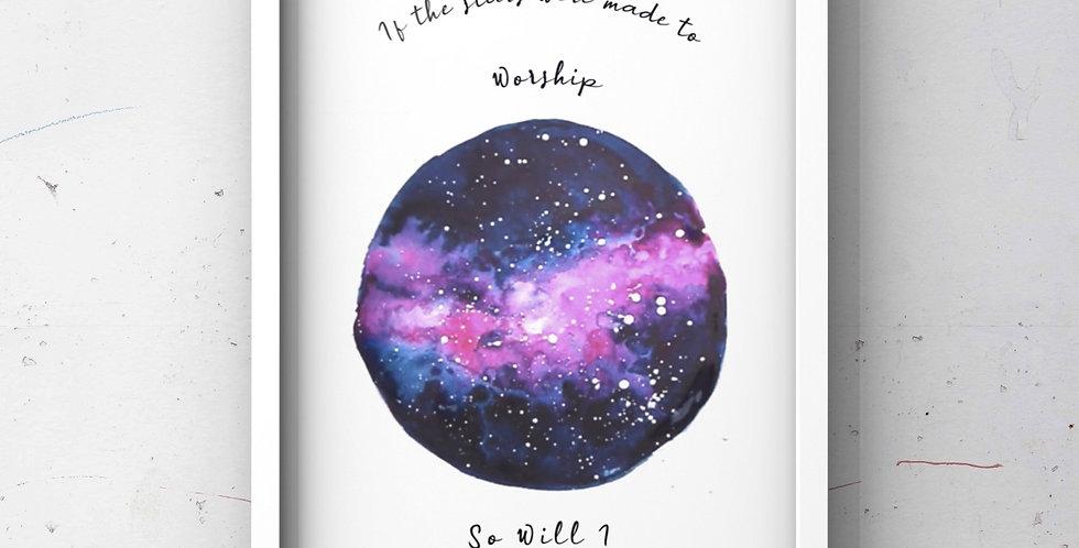 So Will I - Hillsong Print