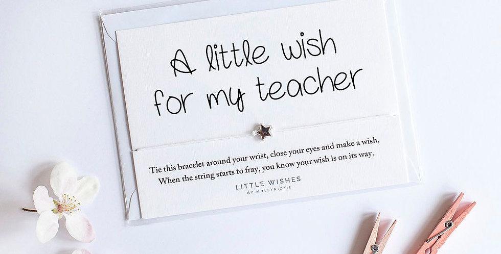 Teacher Wishes