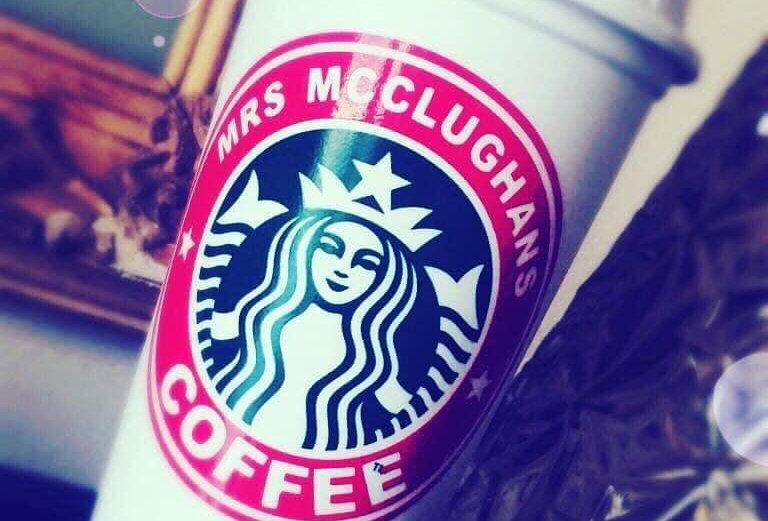 Custom Starbucks Reusable Cup